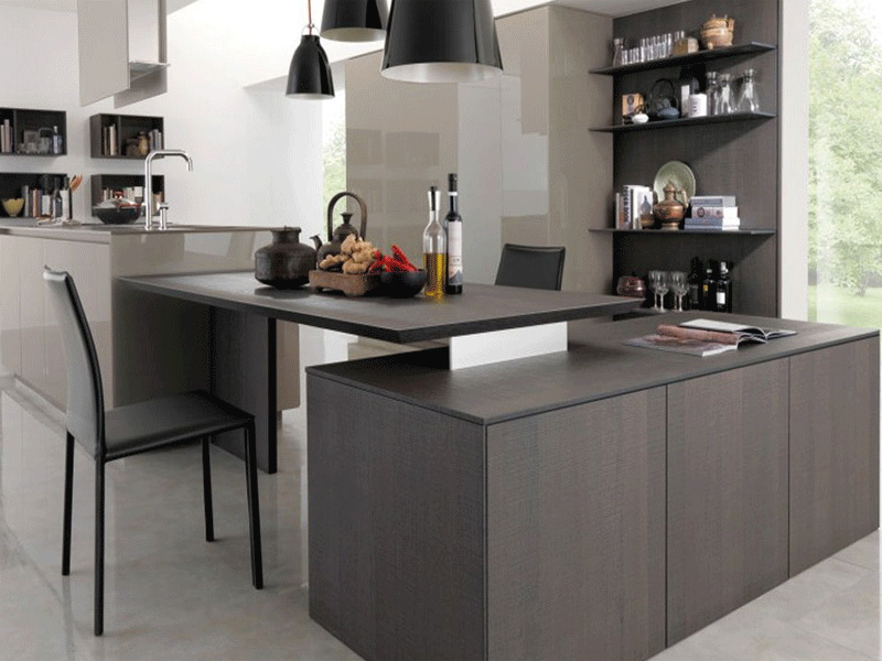 Modern High End Kitchen Cabinets Custom Design And Manufacturing